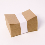 BROWN KRAFT ENVELOPES 11 x 7cm  per 100  60-06505